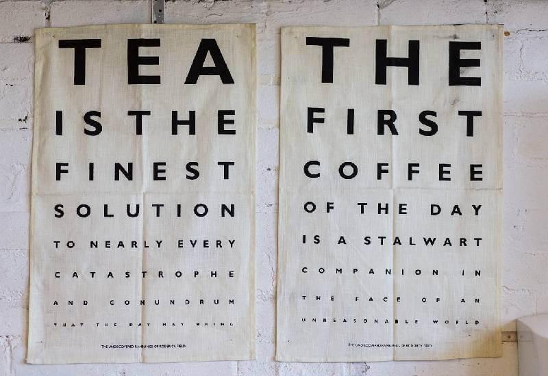 Wybierz kawę lub herbatę