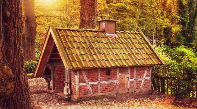 dom z kominem