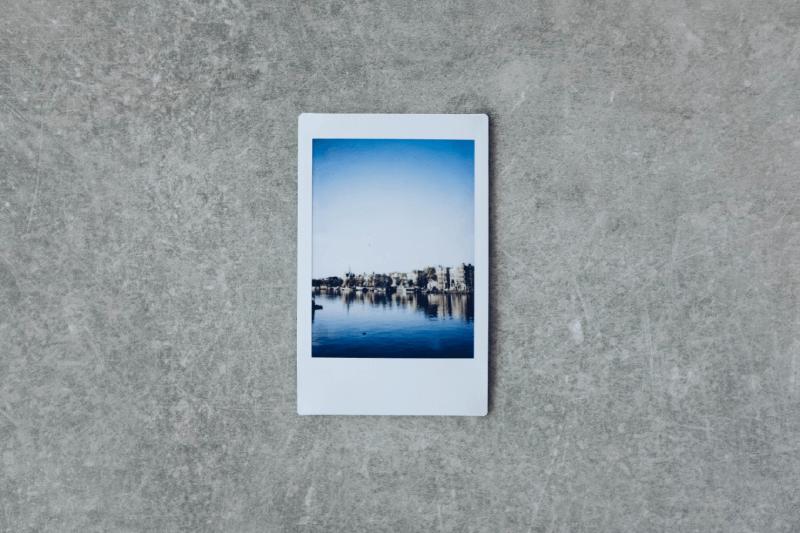 Zdjęcie zrobione aparatem Polaroid