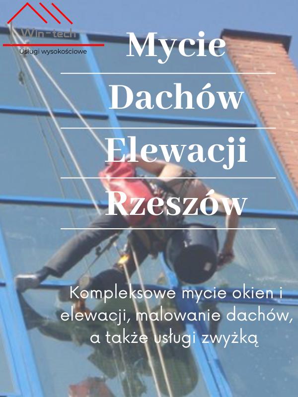 Kompleksowe mycie okien i elewacji w Rzeszowie