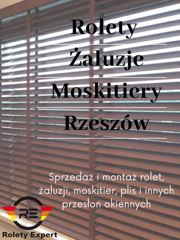 Żaluzje i moskitiery w Rzeszowie