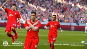 Wygląd piłkarzy Bayern Munich w grze PES2021